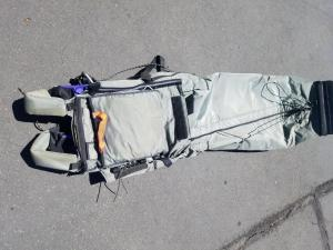 SOLD  High Energy Tracer POD Harness / Chute